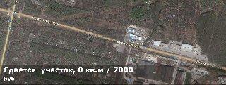 Сдается  участок, 10 соток, 195 километр (Окружная дорога)