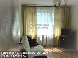 Продается 1-к квартира, 30 кв.м, 7/9 эт., ул Сельских Строителей, д. 5 к 1