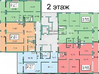 Продается 3-к квартира, 115 кв.м, 5/7 эт., Солотча п, 34к1