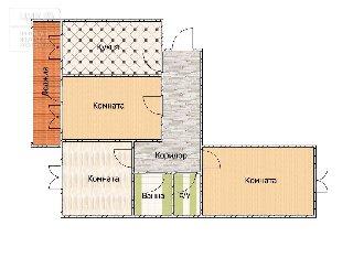 Продается 3-к квартира, 69.5 кв.м, 6/6 эт., ул. 3-и Бутырки, 3