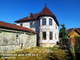 Продается  дом, 240 кв.м, 1-й Новопавловский проезд, д. 8