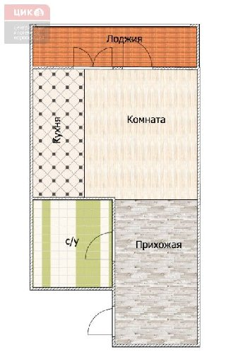 Продается 1-к квартира, 22.6 кв.м, 9/10 эт., Семчинская, 9
