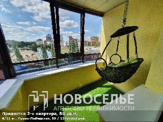 Продается 2-к квартира, 85 кв.м, 6/11 эт., Право-Лыбедская, 50