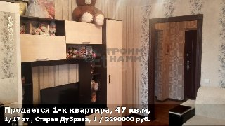 Продается 1-к квартира, 47 кв.м, 1/17 эт., Старая Дубрава, 1